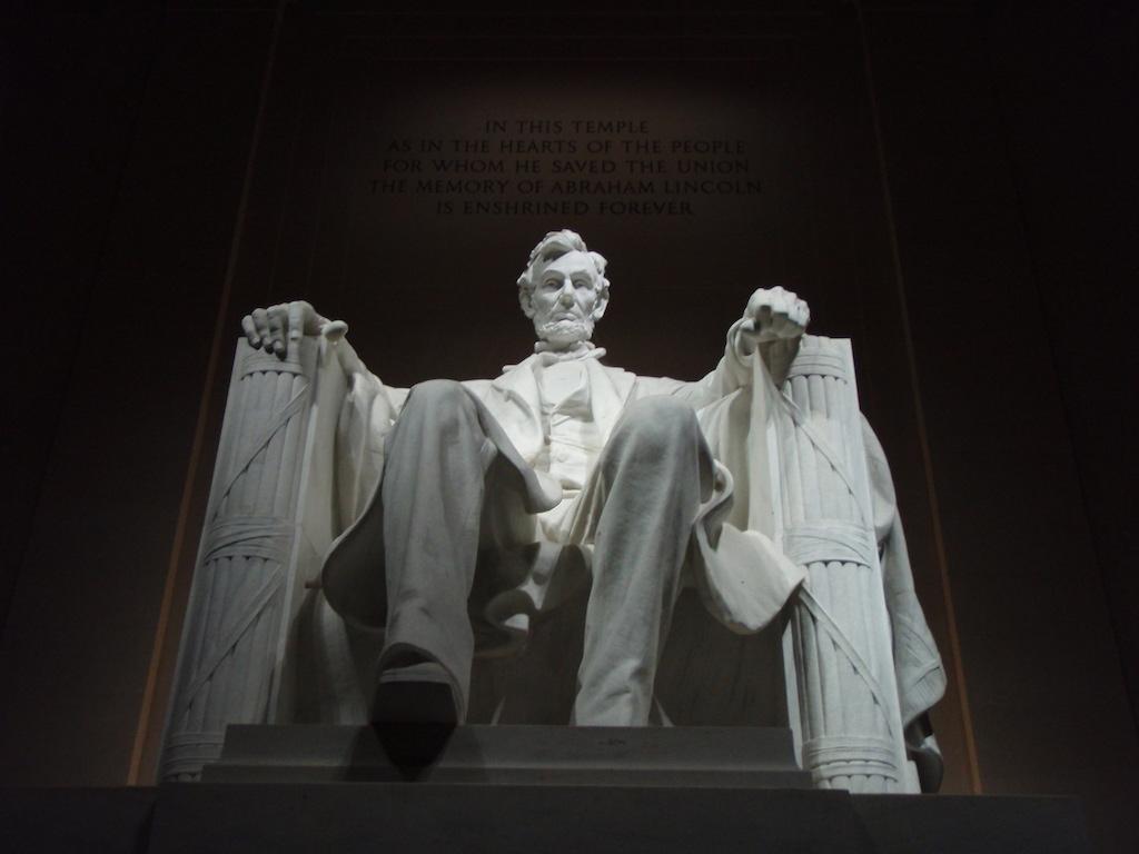 The Lincon memorial