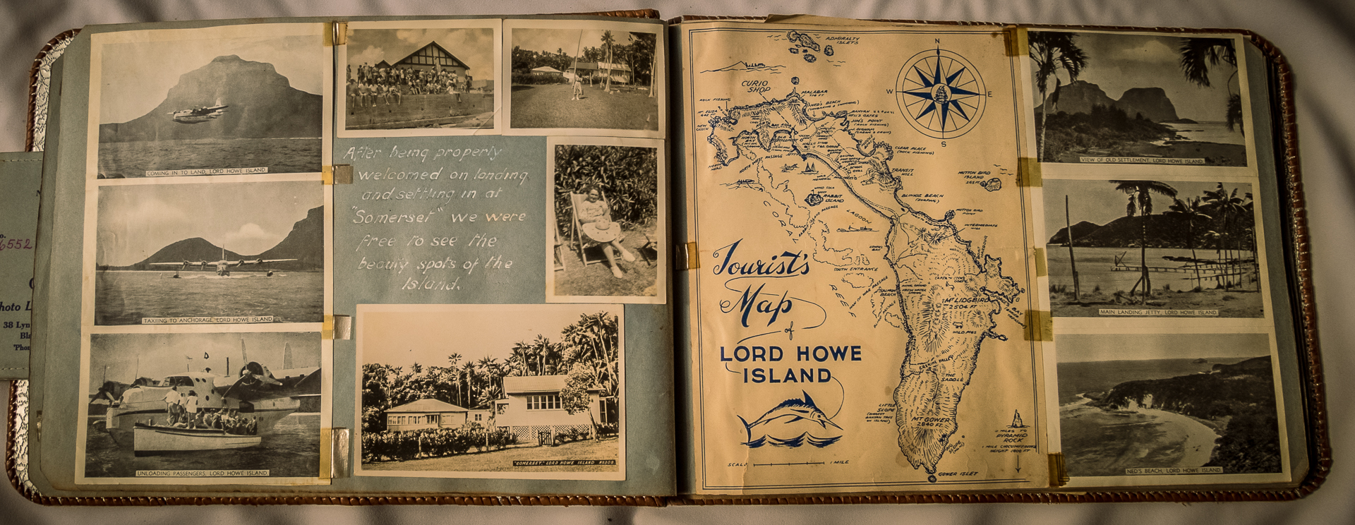 Lord How Island 1954-5