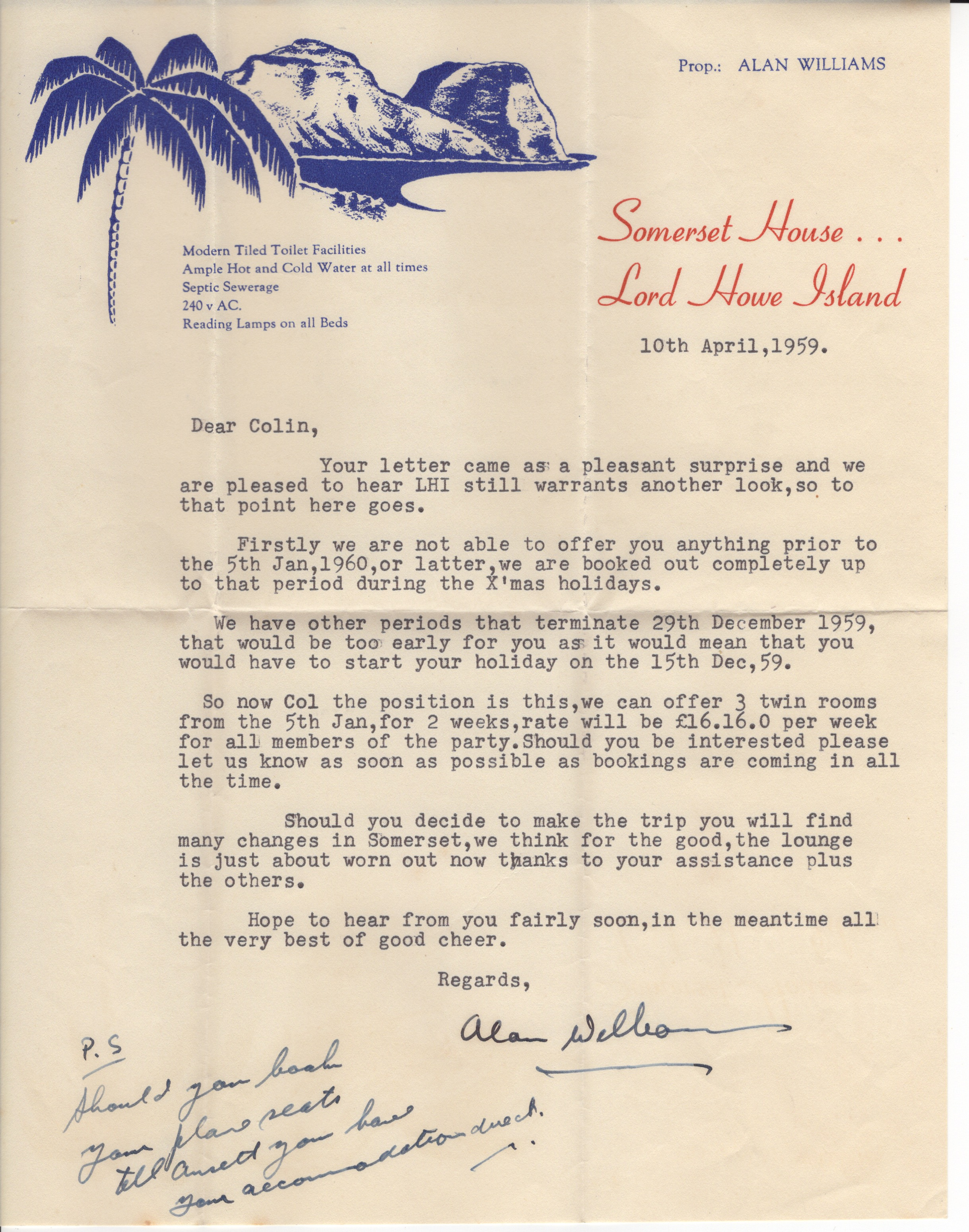 Somerset letter
