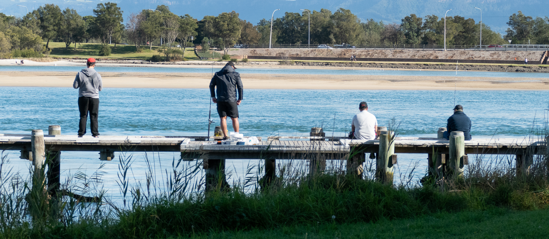 Lake Illawarra fishermen